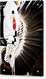 Chief Acrylic Print by Off The Beaten Path Photography - Andrew Alexander