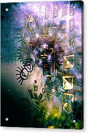 Chief Acrylic Print by Robert M Cooper