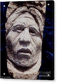 Chief-santana Acrylic Print by Gordon Punt