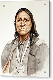 Chief Satanta Acrylic Print