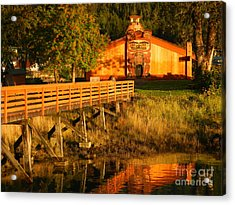 Acrylic Print featuring the photograph Chief Shakes House by Laura  Wong-Rose