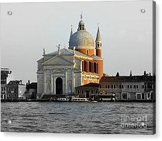 Chiesa Del Santissimo Redentore Acrylic Print by Bishopston Fine Art
