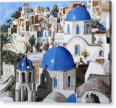 Chiese Ortodosse Acrylic Print