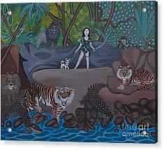 Chihuahua Safari Acrylic Print by Anthony Morris