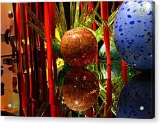 Chihuly-10 Acrylic Print by Dean Ferreira