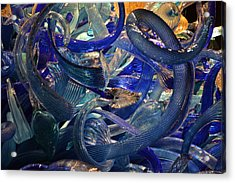 Chihuly-2 Acrylic Print by Dean Ferreira