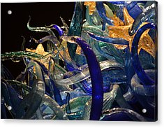 Chihuly-3 Acrylic Print by Dean Ferreira