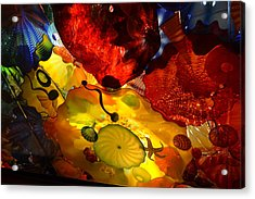 Chihuly-5 Acrylic Print by Dean Ferreira