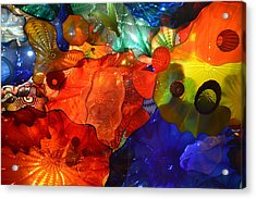 Chihuly-8 Acrylic Print by Dean Ferreira