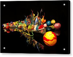 Chihuly Float Boat Acrylic Print