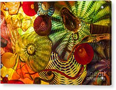 Chihuly Glass 3 Acrylic Print