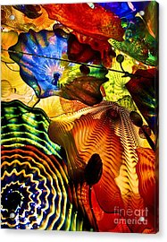 Chihuly Persian Ceiling Acrylic Print by Pattie Calfy