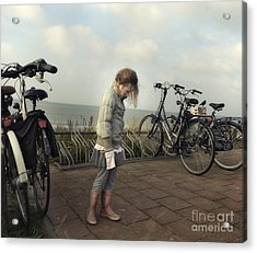 Child In Time Acrylic Print by Michel Verhoef