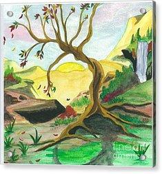 Child Of Earth Acrylic Print by Jeanel Walker