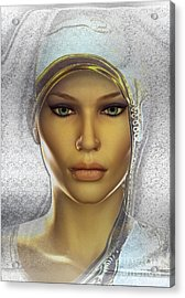 Child Of Light Acrylic Print by Shadowlea Is