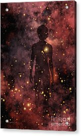 Child Of The Cosmos Acrylic Print