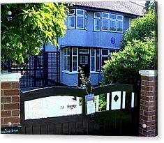 Childhood Home Of John Lennon Liverpool Uk Acrylic Print