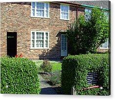 Childhood Home Of Paul Mccartney Liverpool Uk Acrylic Print