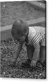 Childhood Treasures Acrylic Print by Missy Boone