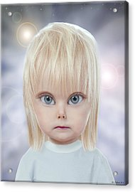 Children Of The Greys Acrylic Print by Jeffrey Oldham