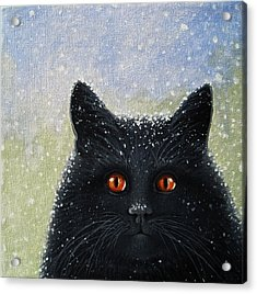 Children's Book Cover Painting Acrylic Print by Linda Apple