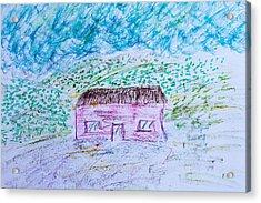 Child's Drawing Acrylic Print