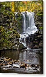 Childs Park Waterfall Acrylic Print