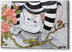 Child's Pose Acrylic Print