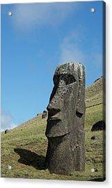 Chile, Easter Island Aka Rapa Nui Acrylic Print by Cindy Miller Hopkins