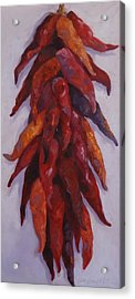 Chili Congregation Acrylic Print by Kelley Smith