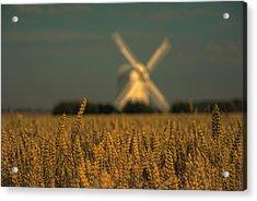 Chillenden Windmill Acrylic Print