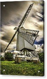 Chillenden Windmill Kent Acrylic Print