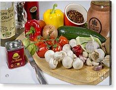 Chilli Con Carne Acrylic Print by Donald Davis