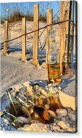 Chillin In Destin Acrylic Print by JC Findley