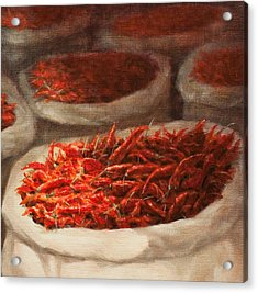 Chillis 2010 Acrylic Print by Lincoln Seligman
