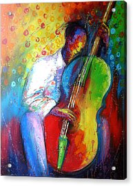 Chilln Acrylic Print by Tunde Afolayan-Famous