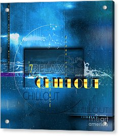 Chillout Acrylic Print
