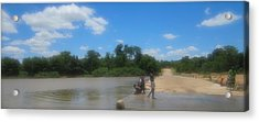 Chilonga Bridge Acrylic Print