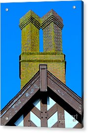 Chimney Abstract Acrylic Print by Ed Weidman