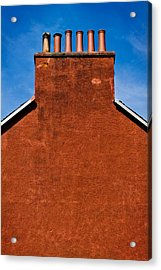 Acrylic Print featuring the photograph Chimney Pots by Bud Simpson