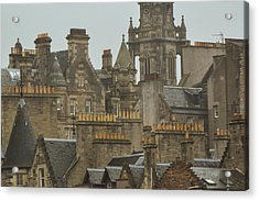 Chimney Pots Of Edinburgh Acrylic Print