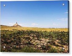 Chimney Rock - Bayard Nebraska Acrylic Print by Brian Harig