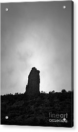 Chimney Rock IIi Acrylic Print by Dave Gordon