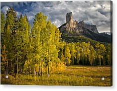 Chimney Rock San Juan Nf Colorado Img 9722 Acrylic Print