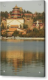 China, Beijing, Summer Palace, Temple Acrylic Print by Anthony Asael