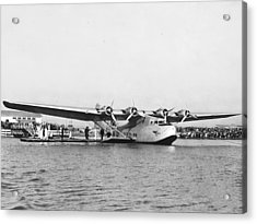 China Clipper Seaplane Acrylic Print by Underwood Archives