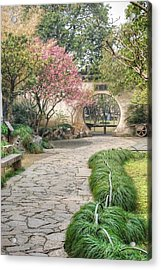 China Courtyard Acrylic Print