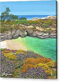 China Cove Paradise Acrylic Print