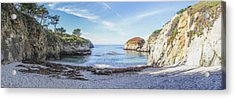 China Cove Point Lobos Acrylic Print