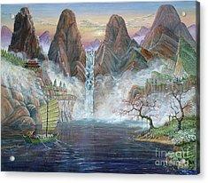 China Dawn Acrylic Print